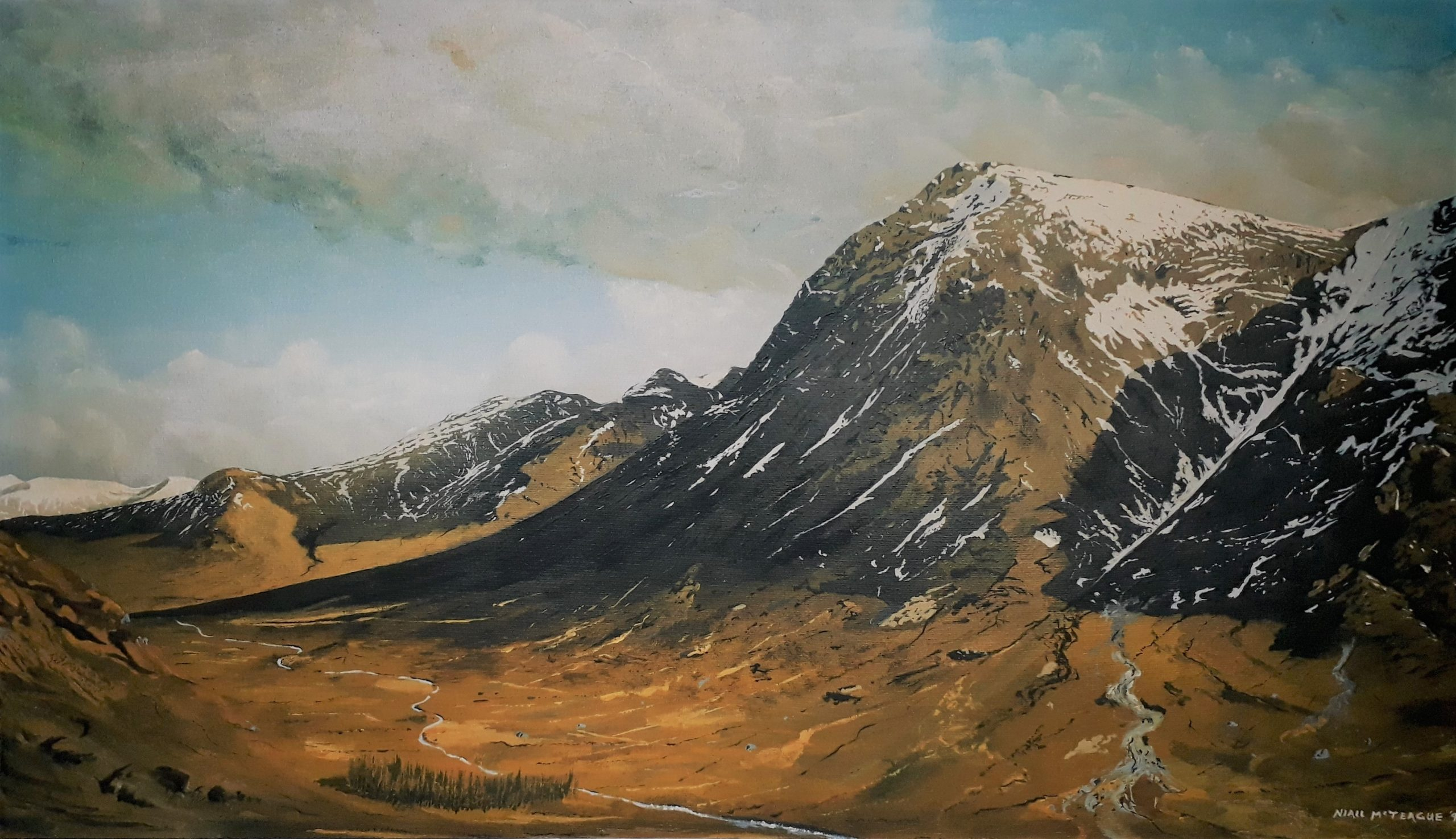 Glencoe from the Devils Staircase